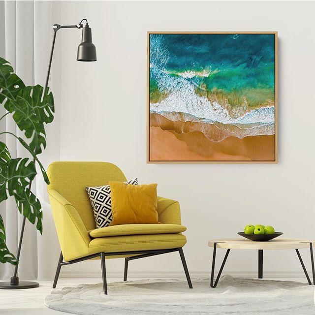 • W A N D A F U L L  I I  Fine Art | Acrylic | Framed Canvas Location:  Wanda Beach, Cronulla  Link in Bio — — —