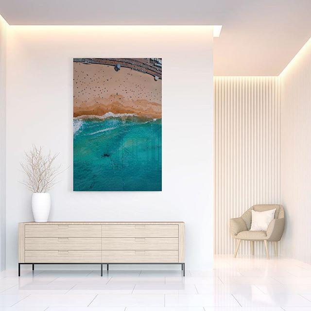 Bondi Vertigo  Available as fine art print on www.kess.gallery  Link in Bio