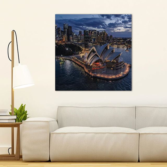 Sydney Opera House from Above now available on kess.gallery  Link in Bio