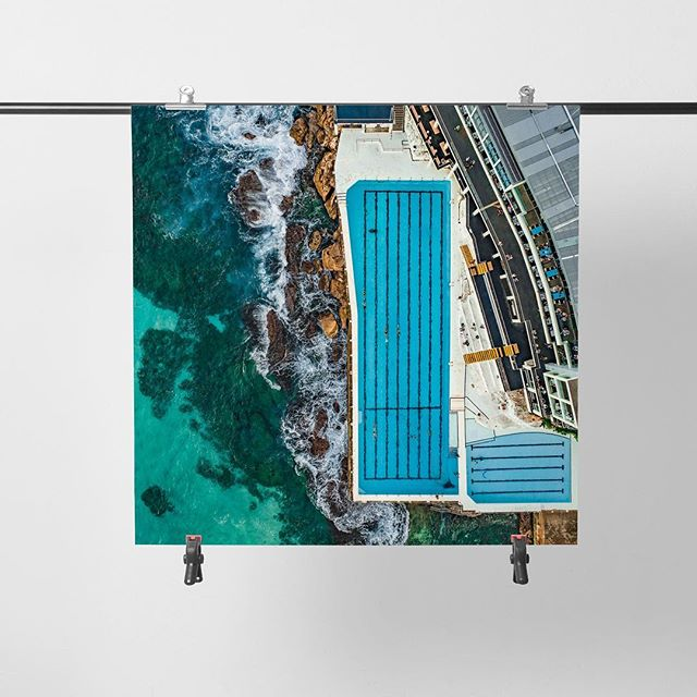 Bondi Icebergs I  ⛰  Available as Fine Art Acrylic, Canvas & Paper Prints on www.kess.gallery 🏼 Link in Bio