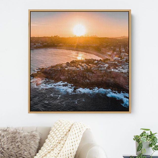 Bondi Sunset  Available as Fine Art Acrylic, Canvas & Metallic Paper Prints on www.kess.media 🏼 Link in Bio