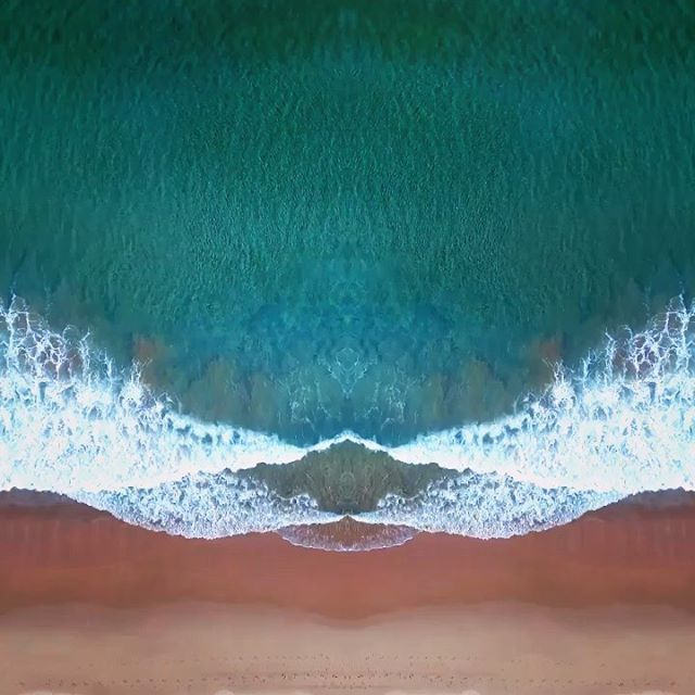 Sea Blot Symmetry Series   Fine Art Print Collection on Kess Gallery  An abstract aerial drone series taken over Wanda Beach. This series will make you look at the sea in a new way. Inspired by the concept of the Rorschach Test (Inkblot test).
