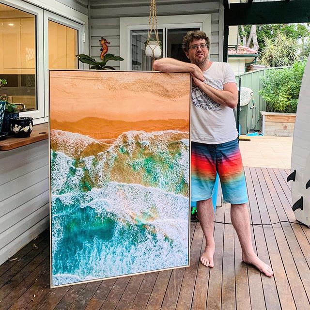 I'm auctioning off one of my Wanda Beach Prints to raise money for the NSW RFS. Please share, place a bid or donate if you can.⁣ ⁣ Wanda Wonder - NSW RFS Charity Print Auction⁣ ⁣ https://kess.gallery/products/wanda-wonder-nsw-rfs-auction⁣ ⁣ All funds raised from this auction will be donated to the NSW RFS.⁣ ⁣ - Dimensions: 1.5m x 1m⁣ ⁣ - Beautiful Floating Canvas Print with a natural Oak Frame⁣ - I will deliver it to you personally if you are based in Sydney.⁣ - Outside of Sydney standard international & domestic shipping & courier charges apply.⁣ - Location: Wanda Beach in Cronulla⁣ - One of the most popular prints we have. I have only had it in the office for about 2 weeks. The print would usually retail for $1300. ⁣ - If you win the auction I will give you a full Tax Invoice and a receipt showing the full amount donated to the RFS.⁣ ⁣ If you can't put a bid in on the print. You can still donate below.